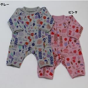 ※当店の商品はすべて新品です。 子ども服 ベビー服 セール 女の子 カバーオール ロンパース 長袖 ...