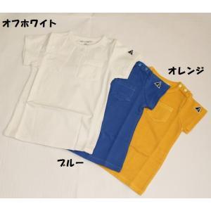 子供服 男女 ポケット半袖Tシャツ 80cm 90cm 110cm 130cm ピーグル 70%OFF メール便OK RS18|akitaoutlet