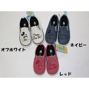 子供用靴 男女 ディズニーDYスリッポン アンパサンド ampersand 17cm メール便NG ...