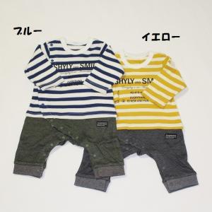※当店の商品はすべて新品です。 子ども服 ベビー服 セール 男の子 カバーオール ロンパース ボーダ...
