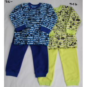 ※当店の商品はすべて新品です。 子ども服 男の子 男児 長袖 パジャマ ルームウェア キッズ かぶり...