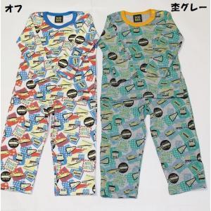 子供服 男の子 長袖 新幹線柄かぶりパジャマ ドドンパ DODMPA 80cm 90cm 95cm 100cm 110cm 120cm 130cm メール便OK K115