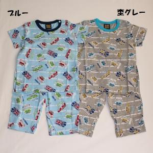子供服 男の子 車柄半袖パジャマ ドドンパ DODMPA 80cm メール便OK PS2
