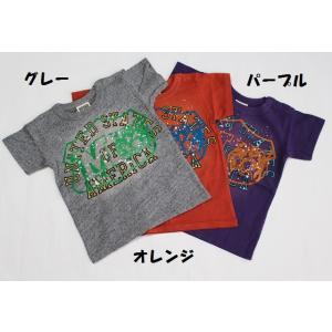 子供服 男の子 半袖 ヴィンテージ加工Tシャツ  エフオーキッズ F.O.KIDS 80cm メール...
