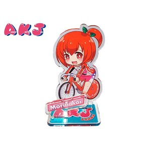 もりんちゃんアクリルフィギュア ☆ガールズケイリン公式ユニフォーム着用|akj-shop-pro