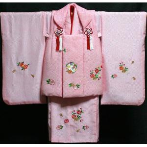 七五三着物 女児三歳用 正絹 新品|akogareyume