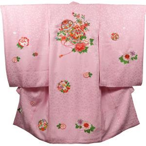 お宮参り 着物 女の子 祝着 初着 産着 正絹のしめ 新品|akogareyume