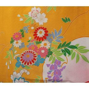 お宮参り 着物 女児祝着 初着 産着 絽(夏専用)正絹のしめ 新品|akogareyume|05