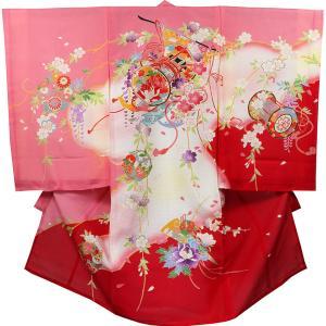お宮参り 着物 女の子 祝着 初着 産着 絽(夏専用)正絹のしめ 新品|akogareyume