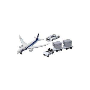 〔トミカ〕 タカラトミー 787エアポートセット(ANA)...
