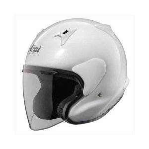 アライ(ARAI) ジェットヘルメット MZF グラスホワイト XO 6364cm | バイク用品|aks