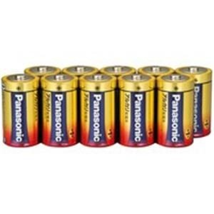 (まとめ売り×2)Panasonic パナソニック アルカリ乾電池 単1 LR20XJN/10S(10本) | 家電|aks