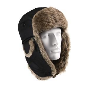ROTHCO(ロスコ) 防寒帽子 フライヤーズハット RO9870 ブラック 7.5(内周約60cm)