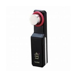 ツインバード Candy Jewel 超音波/イオン美顔器 ブラック SH2662B(×2)|aks