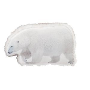 クッション クッション インテリア 家具 お部屋やお店のディスプレイに!動物クッション 白熊クッショ...