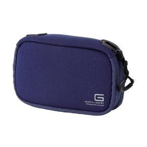 エレコム デジタルカメラケースGRAPH GEAR ソフトタイプ ブルー DGB062BUD 1個(×3)   カメラバッグ aks