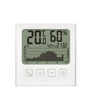 タニタ グラフ付きデジタル温湿度計 TT581 | 温度計・湿度計