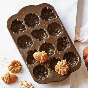 ノルディックウエア ハーヴェスト バイツパン ケーキ型 Nordic Ware Harvest Cake Bites Pan...