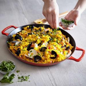 ルクルーゼ 世界料理 パエリア鍋 パエリアパン フライパン Le Creuset World Cuisine Paella Pan パエリヤ...