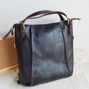 ショルダーバッグ リュックサック トートバッグ 3wayバッグ 合成皮革 ブラック no.99274 人気 通勤 通学バッグ レディースバッグ 鞄 かばん|akt8