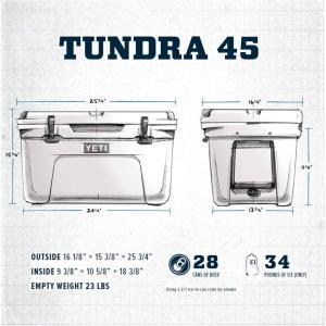 イエティ タンドラ クーラーズ クーラーボックス アウトドア キャンプ BBQ ボックス 保温保冷ボックス YETI TUNDRA 45 HARD COOLER akt8 05