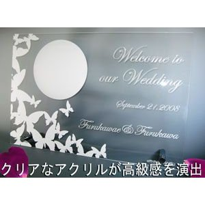 ウェルカムボード〜flower〜 _九州沖縄海外|akurirukobo|02