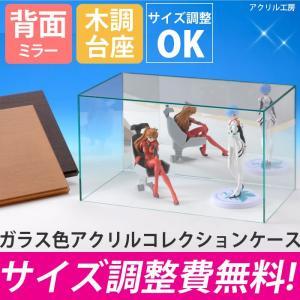 アクリルケース ガラス色 W450 H300 D300 【選...