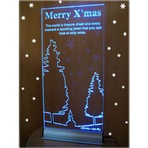 送料無料LEDクリスマスボード |akurirukobo