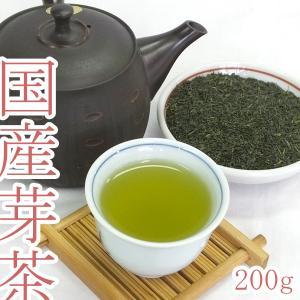 茶 【芽茶】 茶 茶葉 芽茶 めちゃ 200g 貴重 柔らかい穂先|akutsu-chaho