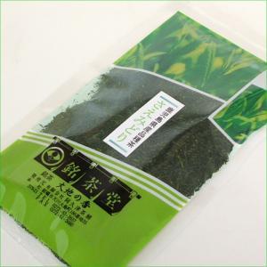 茶 鹿児島茶 水出し茶にも とろり 緑がキレイ はなやか 茶 茶葉 緑 【さえみどり】 鹿児島県産 品種茶 100g|akutsu-chaho