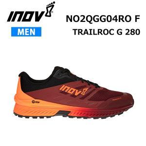 イノヴェイト INOV8 トレランシューズ  メンズ TRAILROC G 280  NO2QGG04RO F トレイルランニング 正規品 alajin