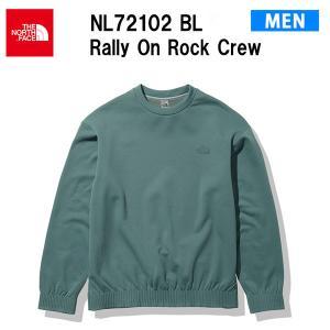 21fw ノースフェイス ラリーオンロッククルー メンズ Rally On Rock Crew NL72102  カラー BL THE NORTH FACE 正規品 alajin