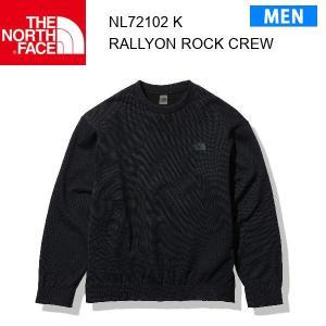 21fw ノースフェイス ラリーオンロッククルー メンズ Rally On Rock Crew NL72102  カラー K THE NORTH FACE 正規品 alajin