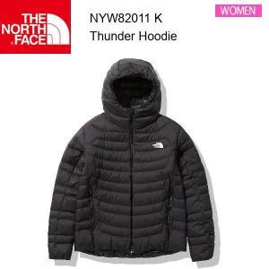 21fw ノースフェイス サンダーフーディ レディース Thunder Hoodie NYW82011  カラー K THE NORTH FACE 正規品 alajin