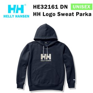 21fw ヘリーハンセン ユニセックス HHロゴスウェットパーカ HH Logo Sweat Parka HE32161  カラー DN HELLY HANSEN 正規品|alajin