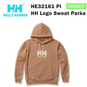 21fw ヘリーハンセン ユニセックス HHロゴスウェットパーカ HH Logo Sweat Parka HE32161  カラー PI HELLY HANSEN 正規品|alajin