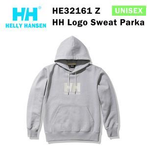 21fw ヘリーハンセン ユニセックス HHロゴスウェットパーカ HH Logo Sweat Parka HE32161  カラー Z HELLY HANSEN 正規品|alajin