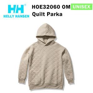 21fw ヘリーハンセン ユニセックス キルトパーカ Quilt Parka HOE32060  カラー OM HELLY HANSEN 正規品|alajin