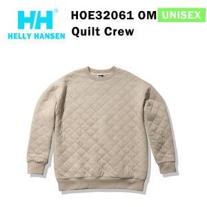 21fw ヘリーハンセン ユニセックス キルトクルー Quilt Crew HOE32061  カラー OM HELLY HANSEN 正規品|alajin