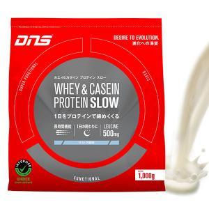 DNS  WHEY  & CASEIN PROTEIN SLOW ホエイ & ガセインプロテイン スロー ミルク風味 正規品 alajin