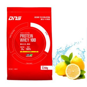 DNS PROTEIN WHEY100 3150g  プロテイン ホエイ 100  レモン風味 正規品 alajin