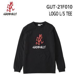 【メール便】21fw グラミチ  ロゴL/STシャツ ユニセックス LOGO L/S TEE GUT-21F010  カラー BLACK GRAMICCI  長袖 Tシャツ 正規品 alajin