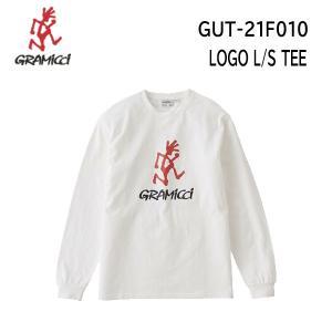 【メール便】21fw グラミチ  ロゴL/STシャツ ユニセックス LOGO L/S TEE GUT-21F010  カラー WHITE GRAMICCI  長袖 Tシャツ 正規品 alajin