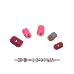 ネイルチップ チョコレート1 デザインネイル ネイルアート つけ爪 簡単 貼るだけ ネイルサロン 本格ネイル|alala-style