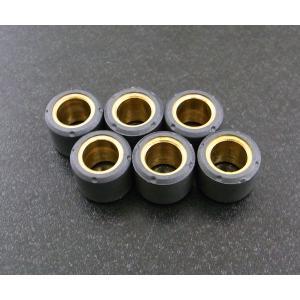 ウエイトローラー15mm x 12mm - 8.0g 6個|alba-mcps