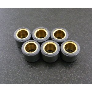 ウエイトローラー15mm x 12mm - 9.0g 6個|alba-mcps
