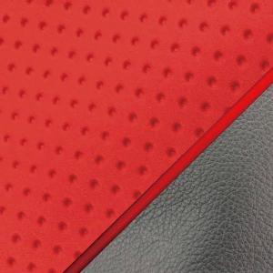 スクーピー(AF55) エンボスレッド/赤P 張替 シートカバー 日本製|alba-mcps