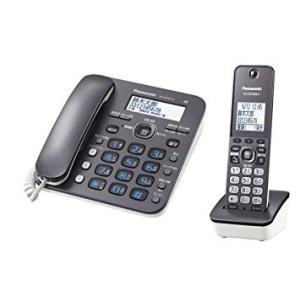 Panasonic コードレス電話機 RU・RU・RU(ル・ル・ル) 子機1台付き 1.9GHz DECT準拠方式 ダークメタル VE-GD32DL-H[送料無料] albadirect