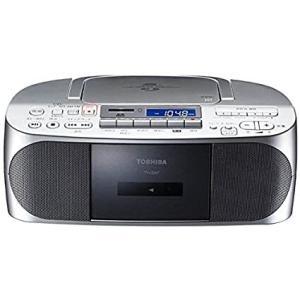 東芝 CDラジオカセットメモリーレコーダー(シルバー)TOSHIBA TY-CDX7-S[送料無料] albadirect