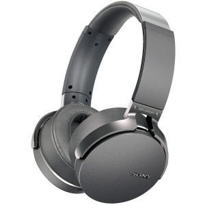 ソニー ワイヤレスステレオヘッドセット グレー MDR-XB950BT H の商品画像